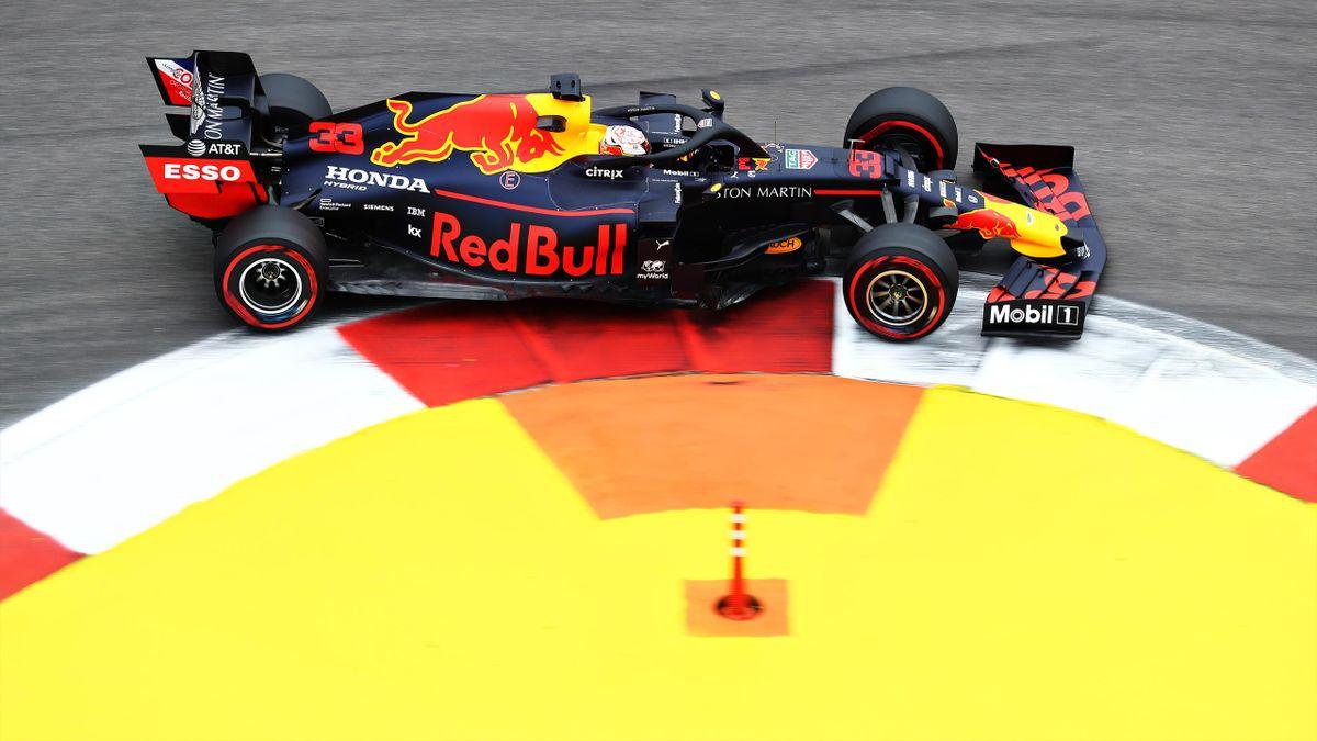 Max Verstappen (Red Bull) au Grand Prix de Russie 2019