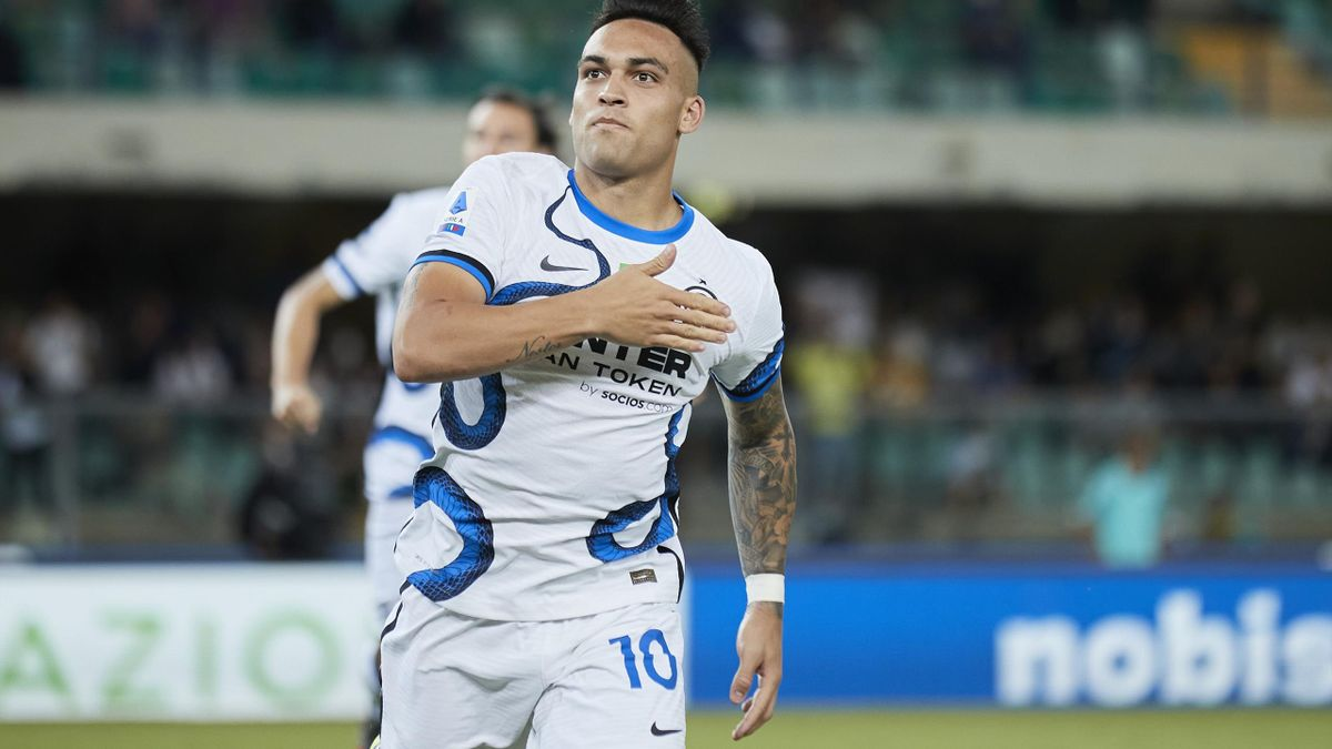 Lautaro Martinez, Verona-Inter
