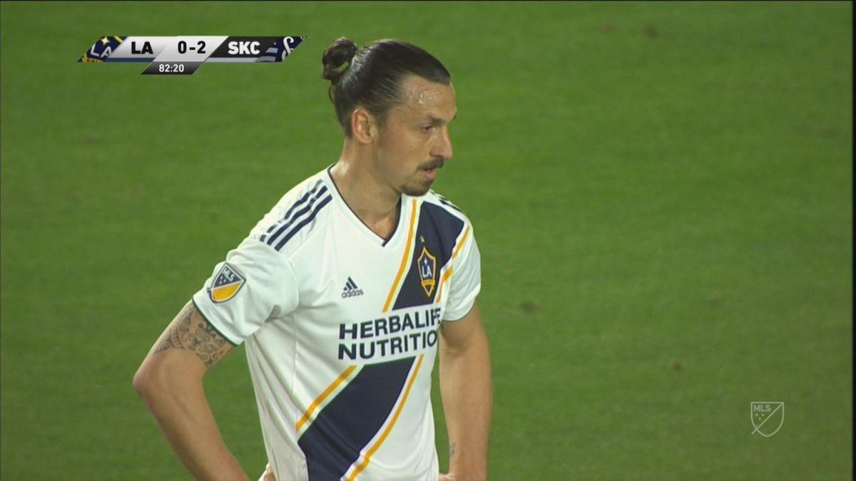 MLS 6th day: Zlatan best moments - LA v Sporting Kansas