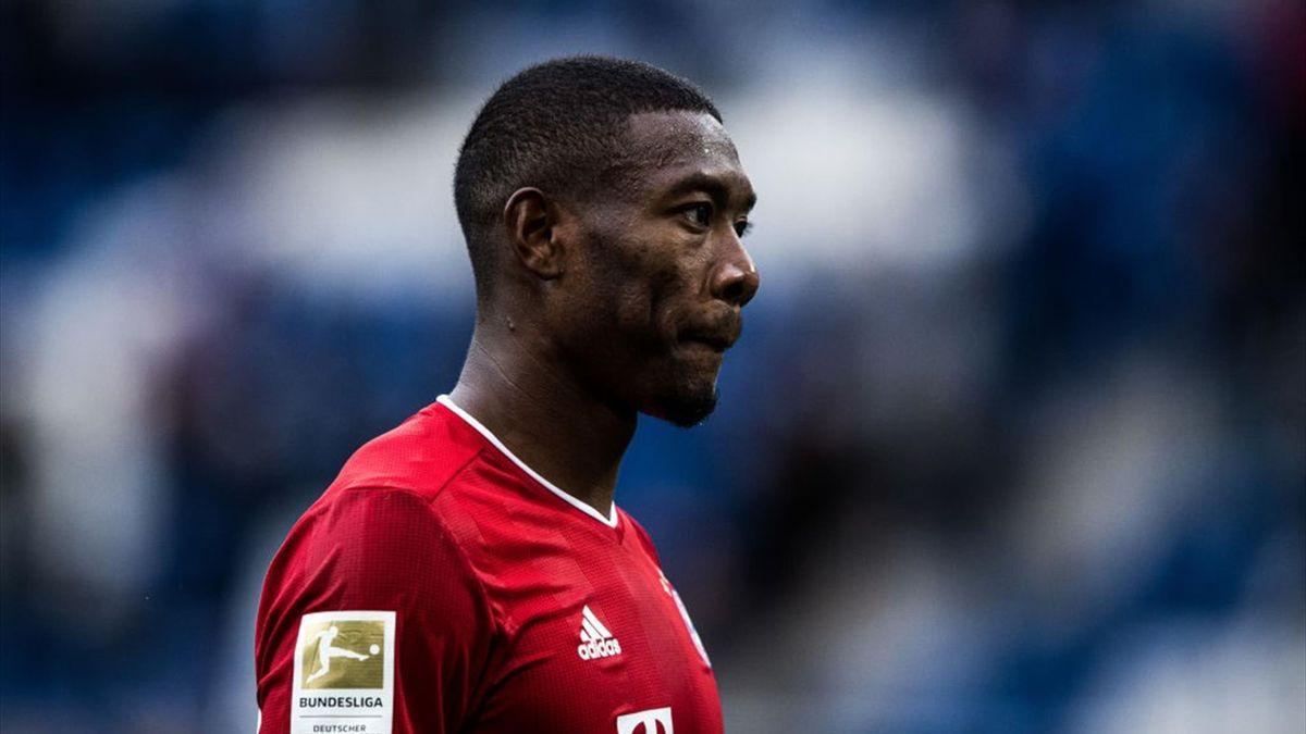 David Alaba vom FC Bayern München