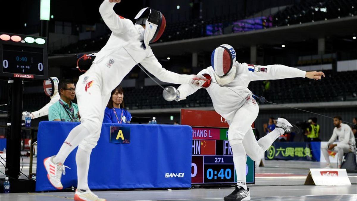 De Fransman Valentin Prades (rechts) is één van de kanshebbers op goud in Tokio.
