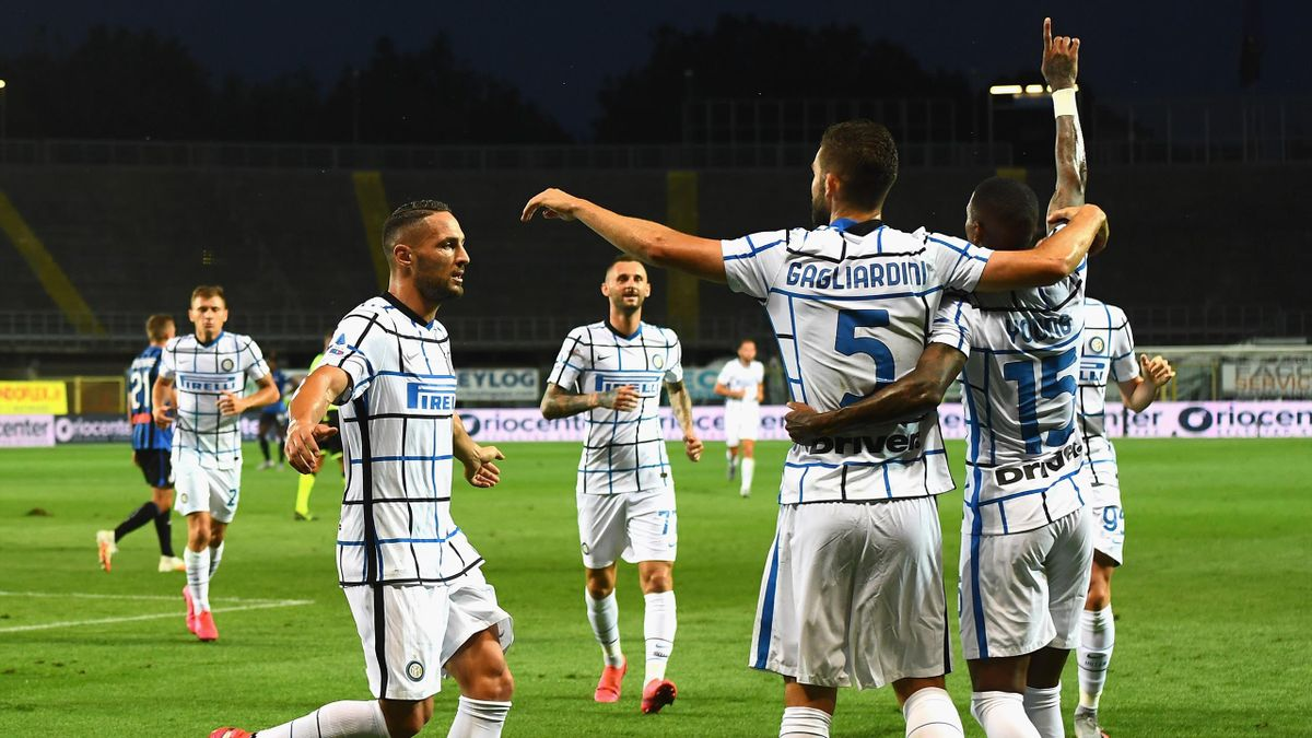 Inter Mailand gegen Atalanta Bergamo