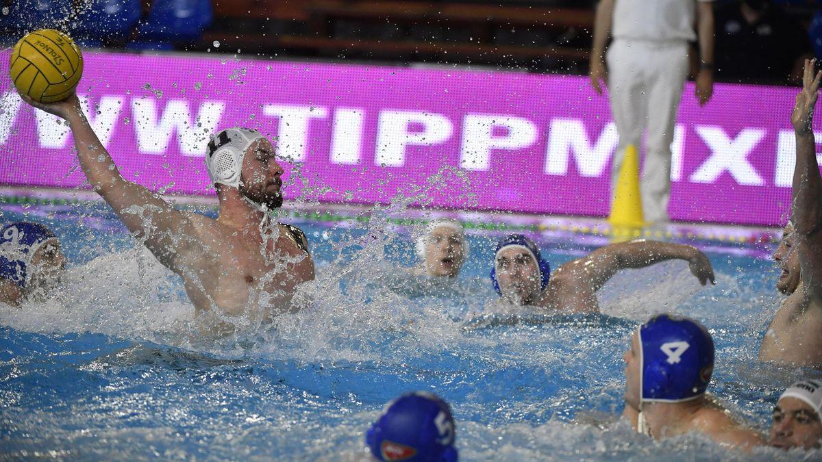 A Szolnok hengerelt a második félidőben - Fotó: MTI/Mónus Márton