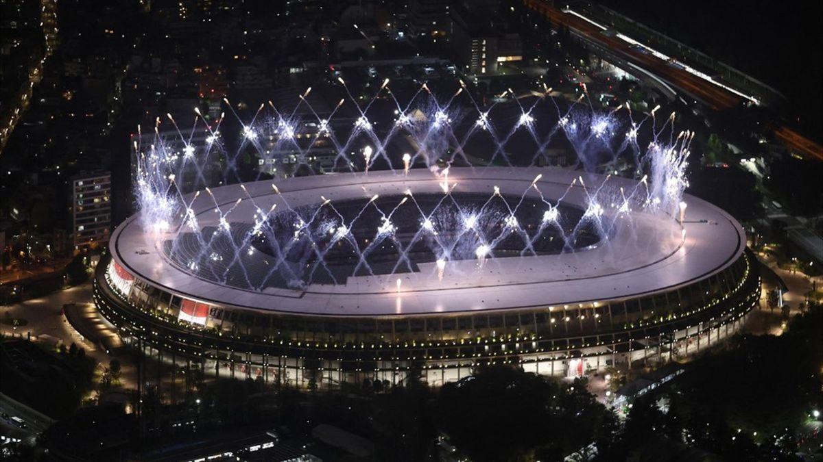 A Paralimpia záróünnepség- Tokiói olimpiai stadion