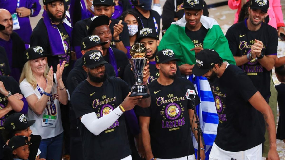Los Angeles Lakers campioni NBA 2020