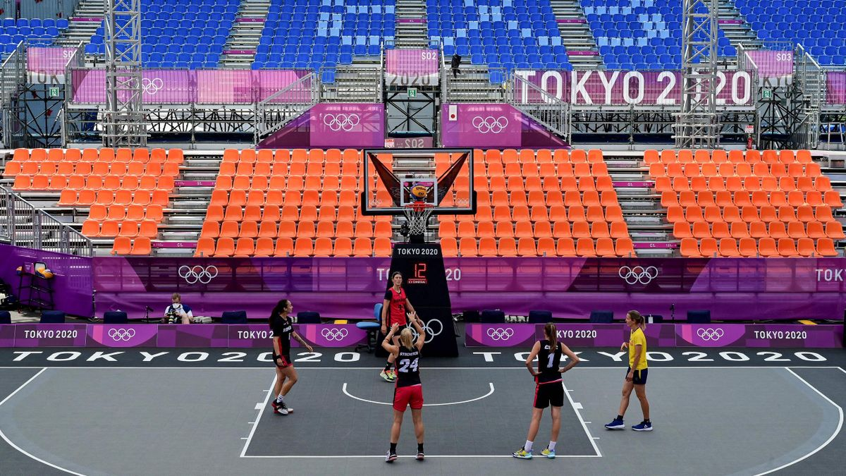 3x3 basketball is played with one single basket