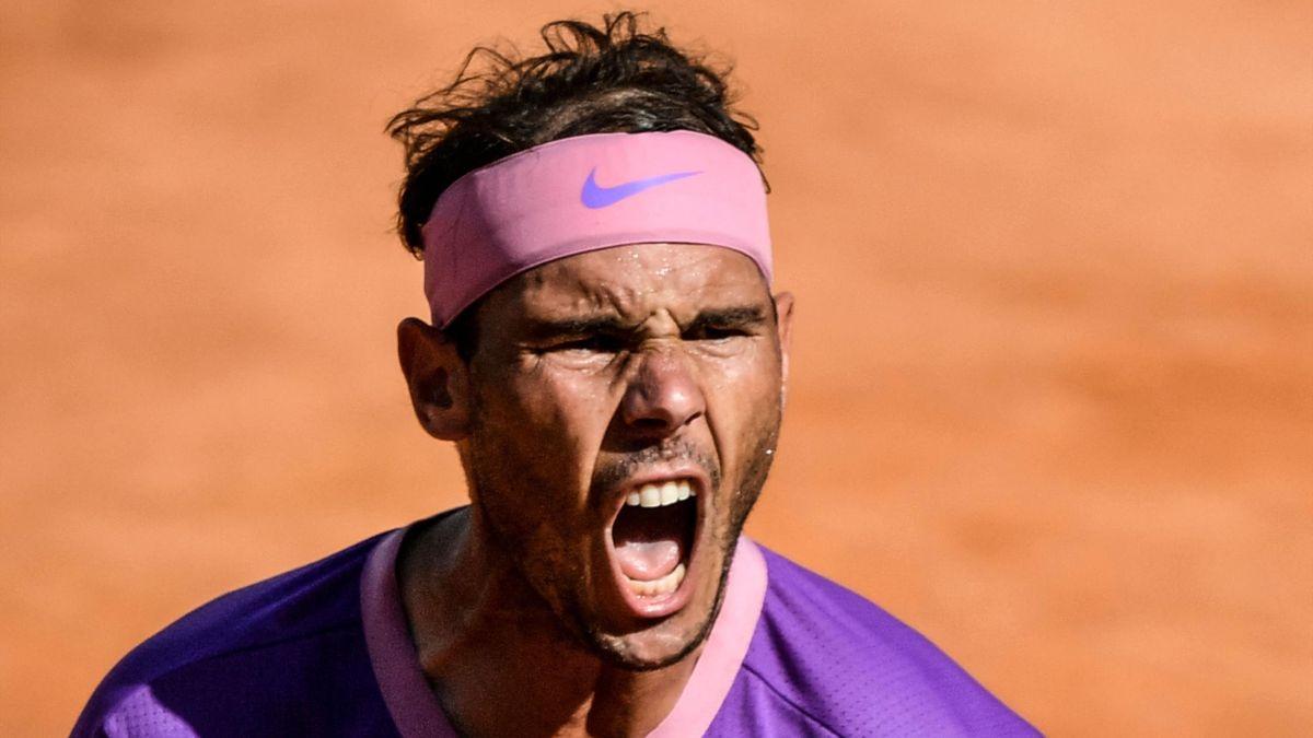 Rafael Nadal jubelt beim ATP-Turnier in Rom