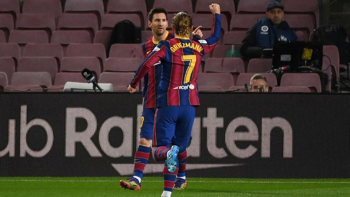Lionel Messi und Antoine Griezmann - FC Barcelona