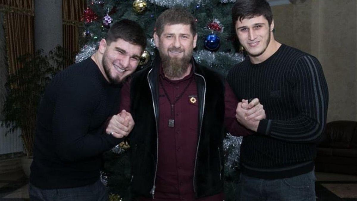 Асхаб Тамаев, Рамзан Кадыров, Хизир Дожимкантов