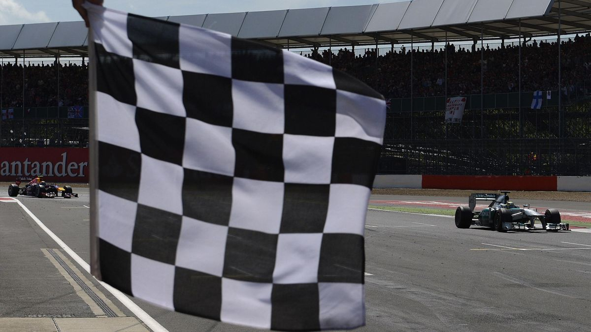 Chequered Flag (Reuters)