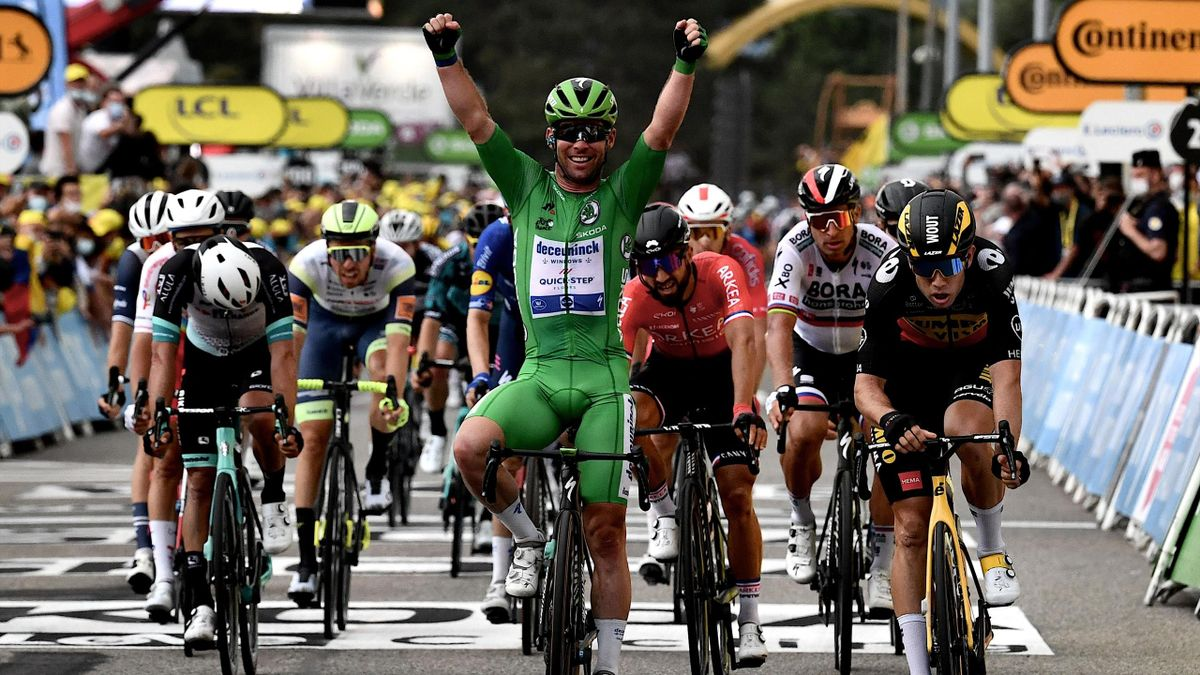 'It's another chapter to the fairy-tale!' WATCH Cavendish's brilliant Stage 10 win