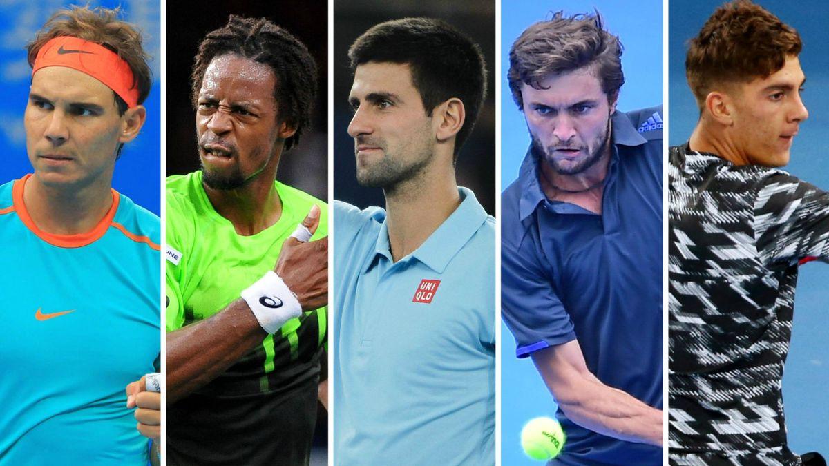 Nadal, Monfils, Djokovic, Simon et Kokkinakis