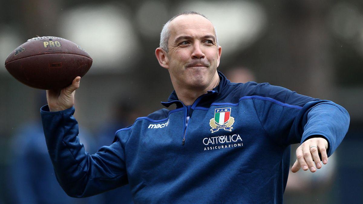 Conor O'Shea - Italy 2019
