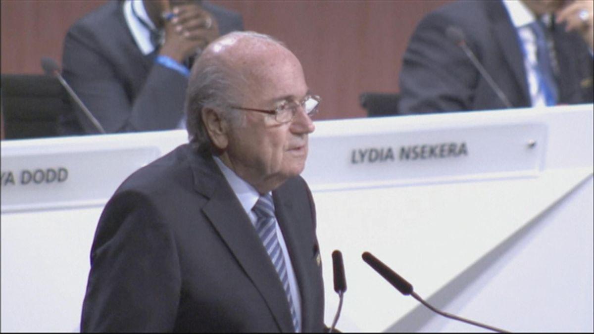 Blatter re-elected FIFA president