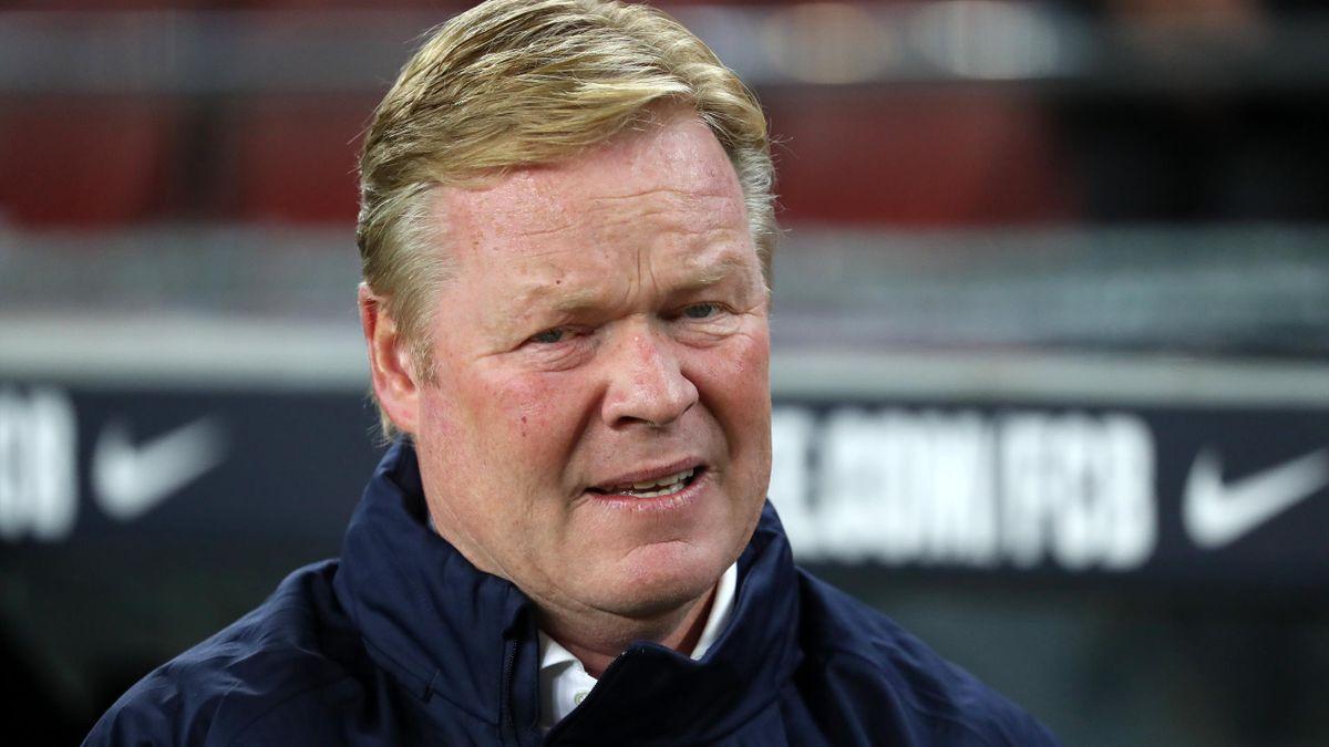Ronald Koeman, coach en grande difficulté au Barça...