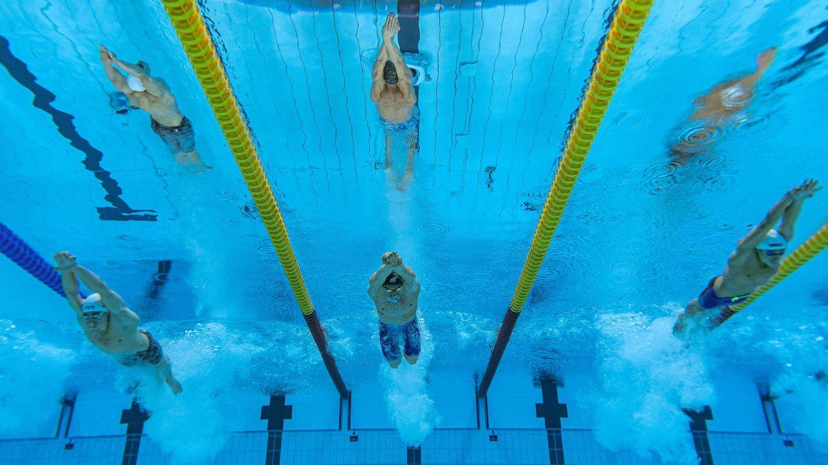 David Popovici, pe culoarul 5 în semifinala probei de 200 metri liber de la Jocurile Olimpice
