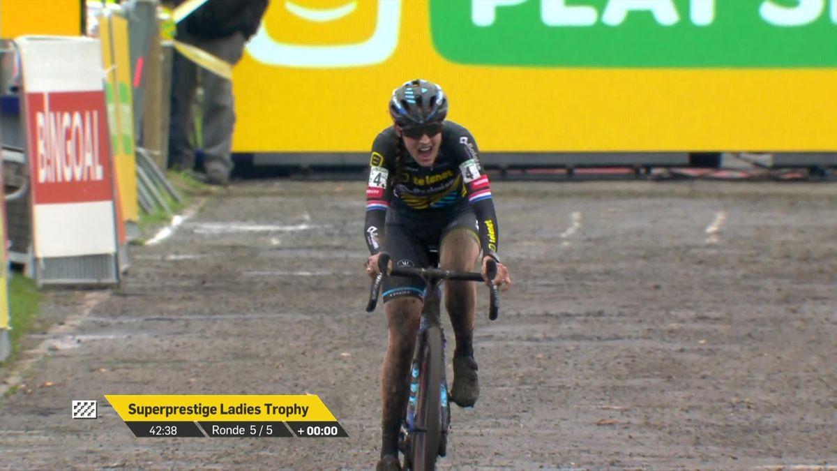 Cyclo-cross - L. Brand wins the Women Superprestige Gavere