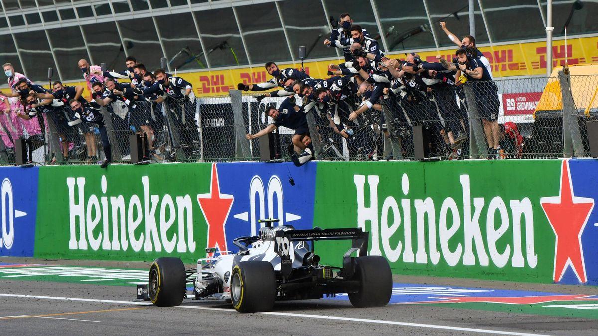 Pierre Gasly vince il GP d'Italia a Monza