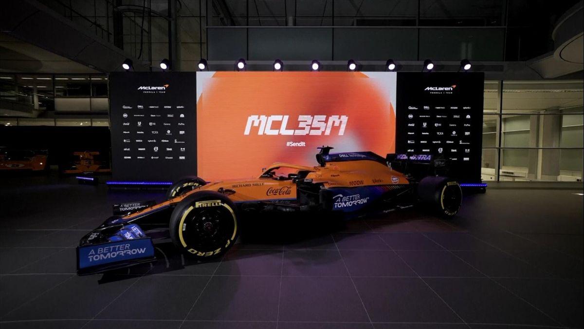 Der McLaren MCL35 für die F1-Saison 2021