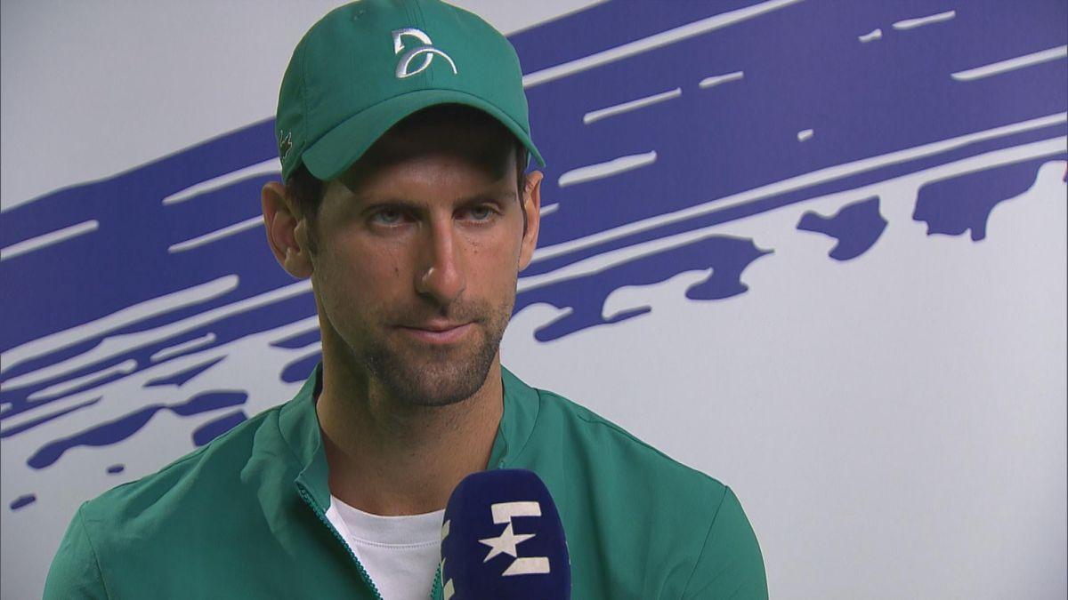 Australian Open - Interview Novak Djokovic (ENG)