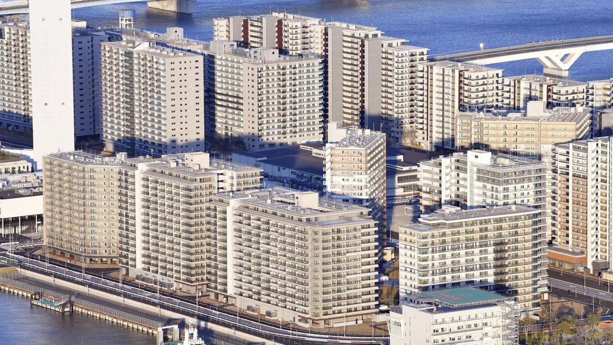 The Athletes' Village at Tokyo 2020