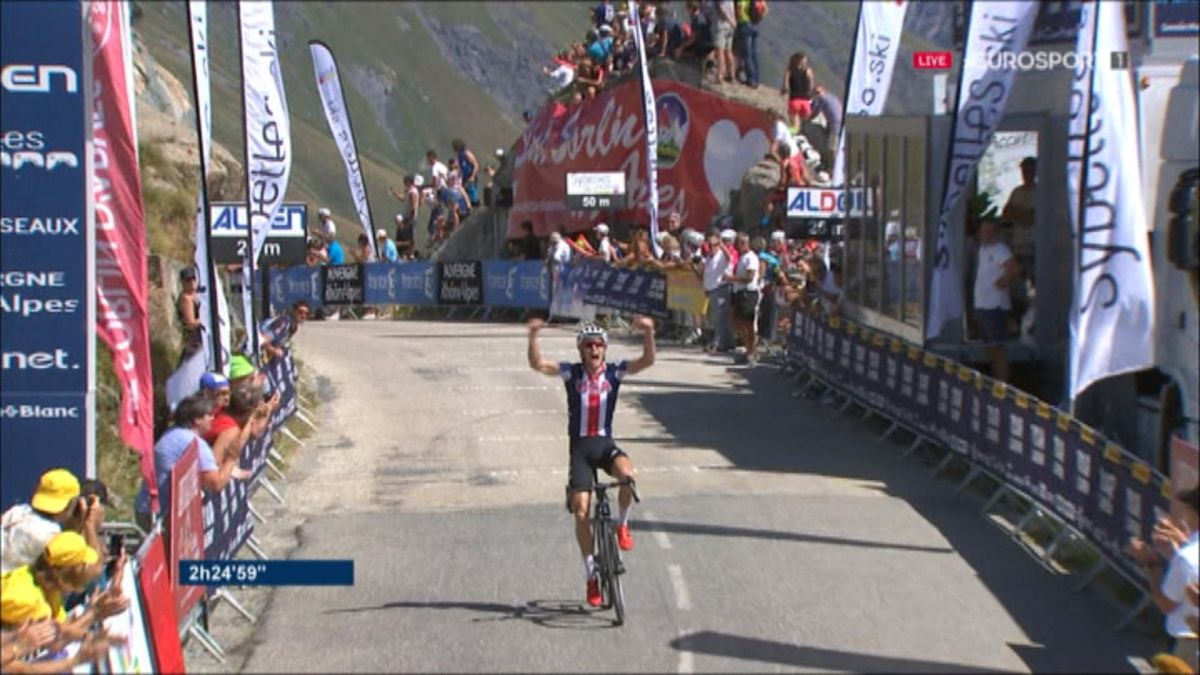 Tour de l'Avenir - Stage 7 Finish