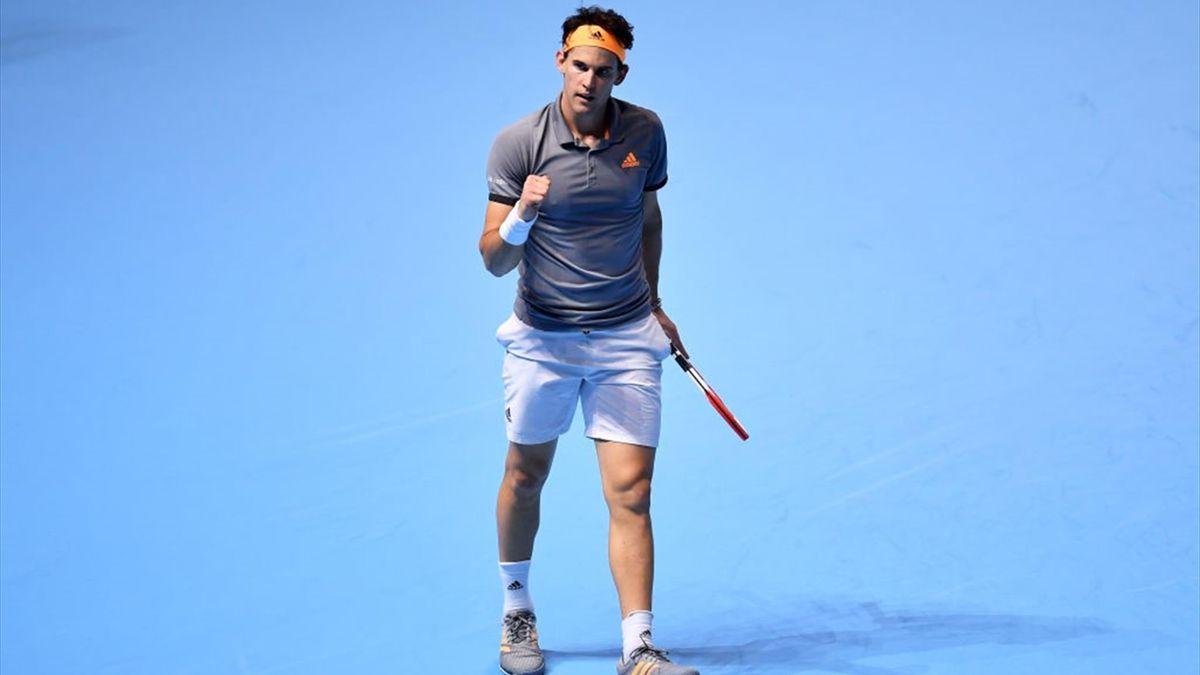 Dominic Thiem gewinnt gegen Roger Federer   ATP Finals