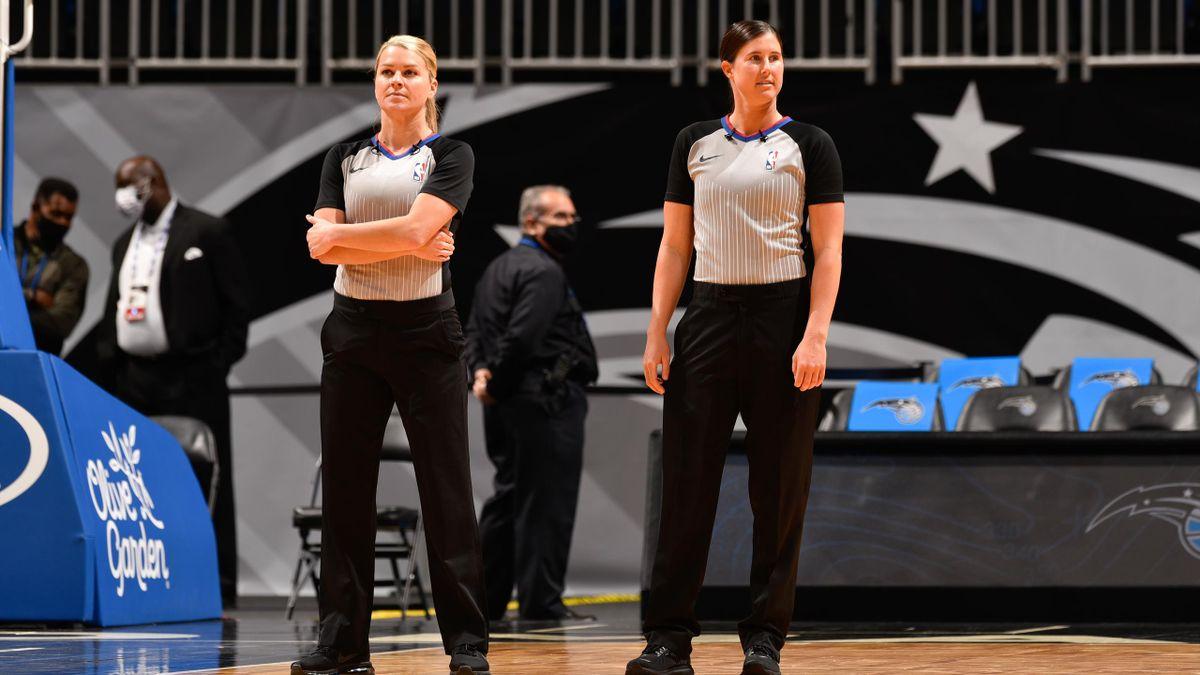 Natalie Sago e Jenna Schroeder: le prime due donne ad arbitrare insieme nella NBA