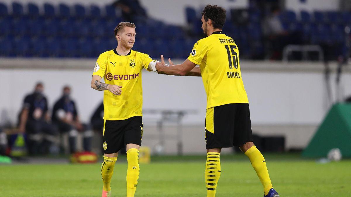 Marco Reus (links) und Mats Hummels - Borussia Dortmund