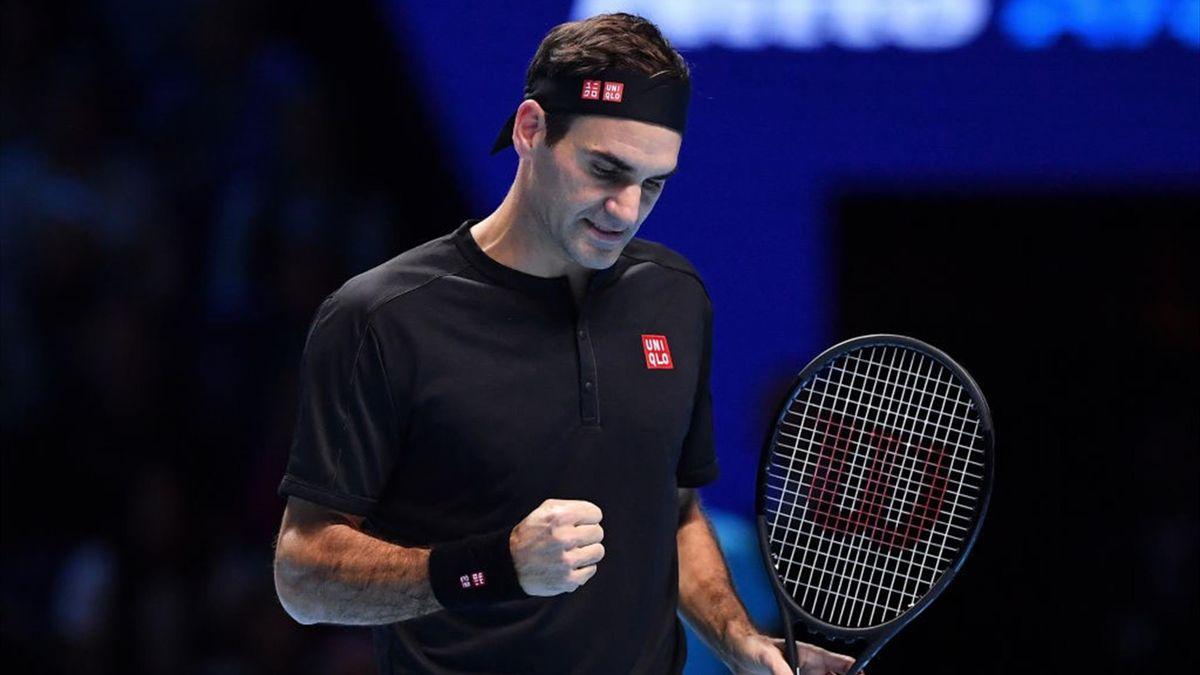 Roger Federer gewinnt gegen Matteo Berrettini