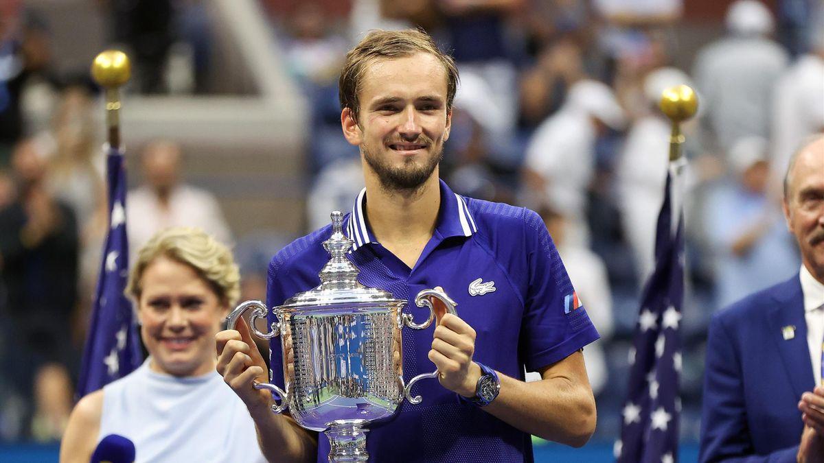 Daniil Medvedev tient son premier titre du Grand Chelem.