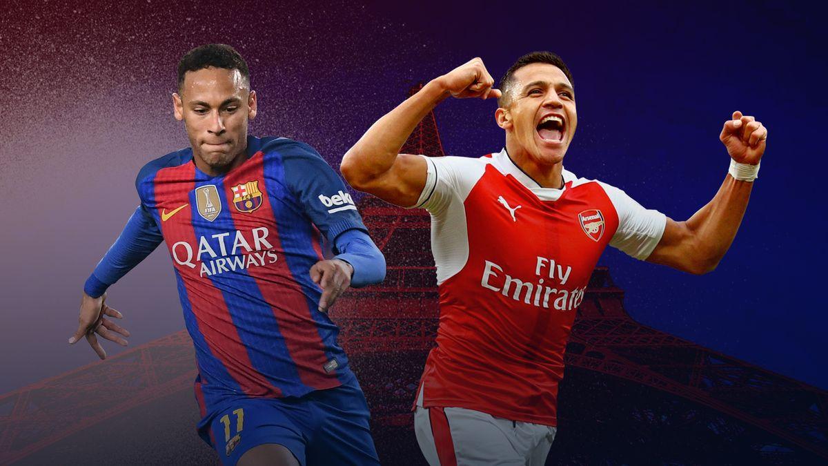 Neymar et Sanchez, une bonne idée pour le PSG ?