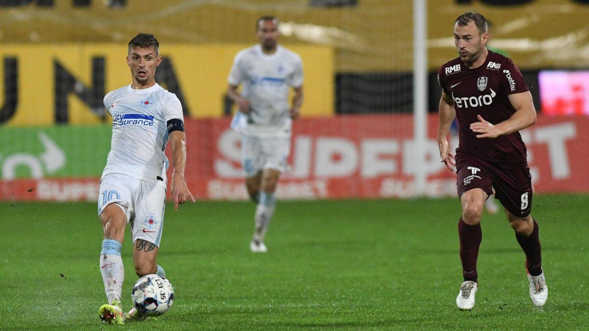 Florin Tănase (FCSB), în meciul cu CFR Cluj