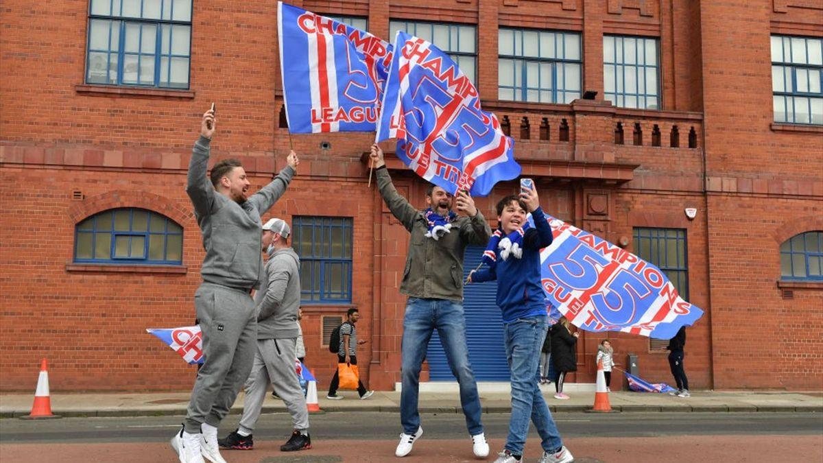 Rangers, campioană în Scoția