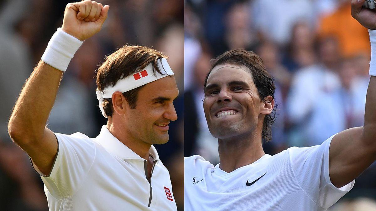 Roger Federer will face Rafael Nadal at Wimbledon