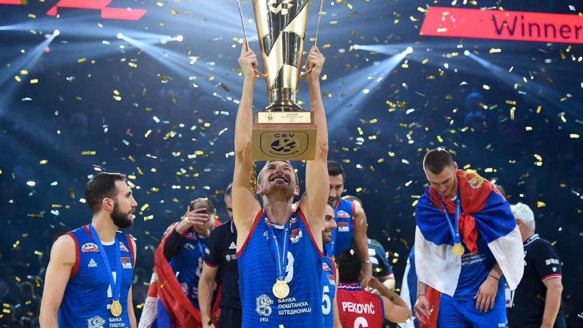 Serbia at European Volleyball Championship