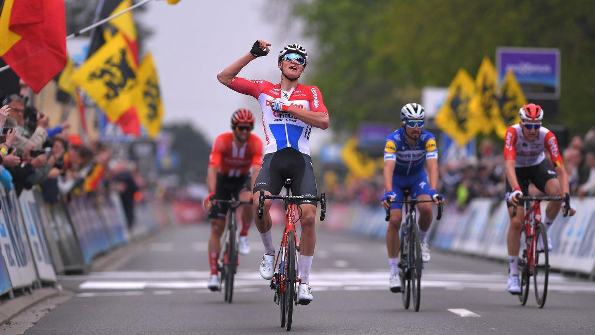 Mathieu van der Poel (Corendon - Circus) wins De Brabantse Pijl 2019