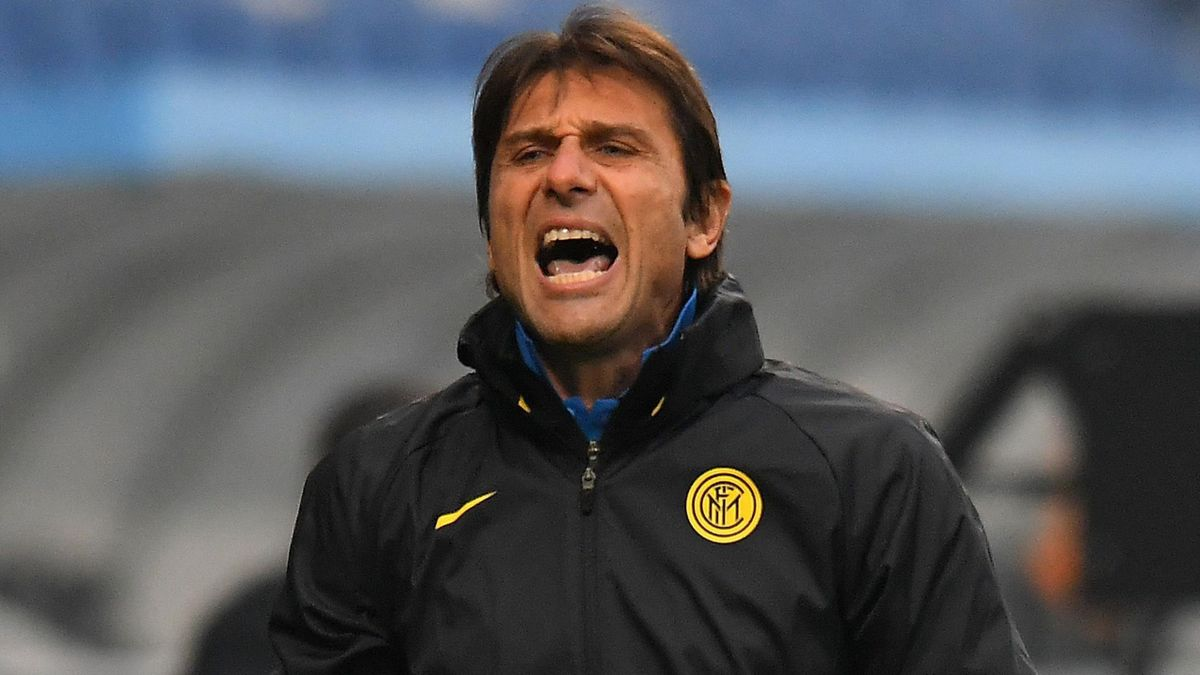 Inter Milan head coach Antonio Conte