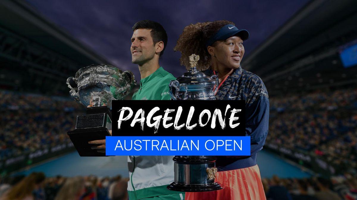 Pagellone, Australian Open 2021