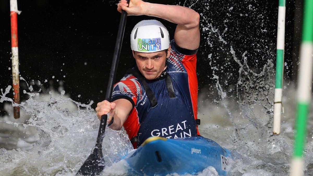 Team GB slalom canoeist Bradley Forbes-Cryans