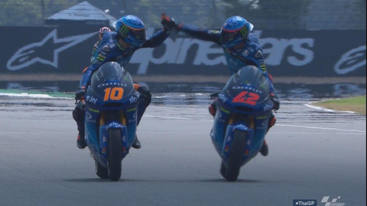 Moto 2 Thailand: Hlts race