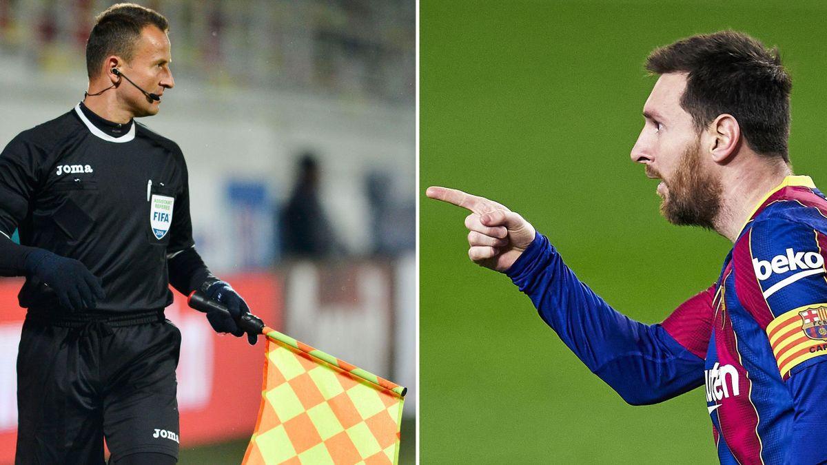 """Messi a răspuns """"prezent"""" când a fost rugat de Șovre să îi semneze cartonașele"""