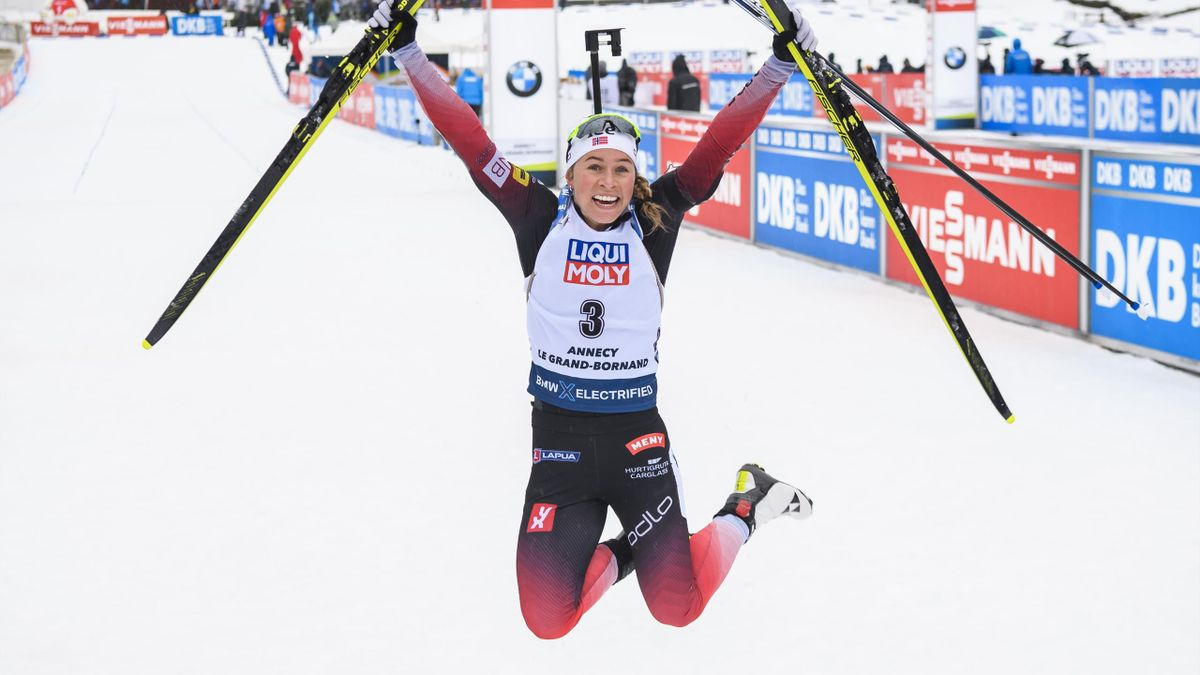 Tiril Eckhoff, lauréate de la mass start du Grand Bornand - 22 décembre 2019