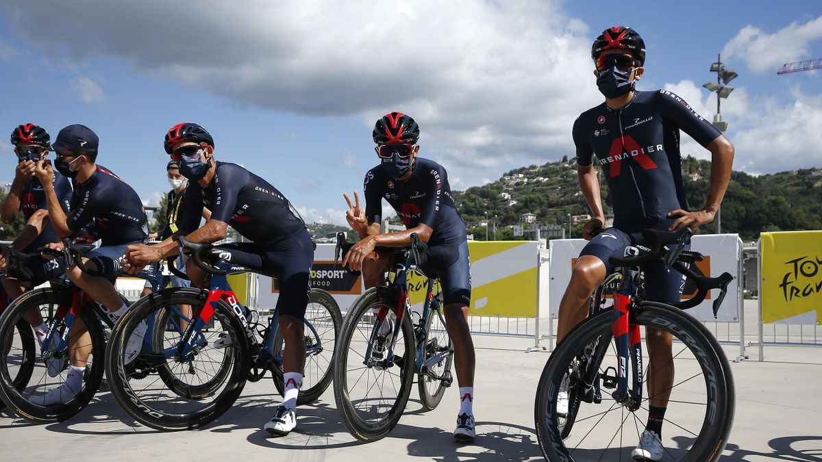 Team Ineos bei der Tour de France 2020