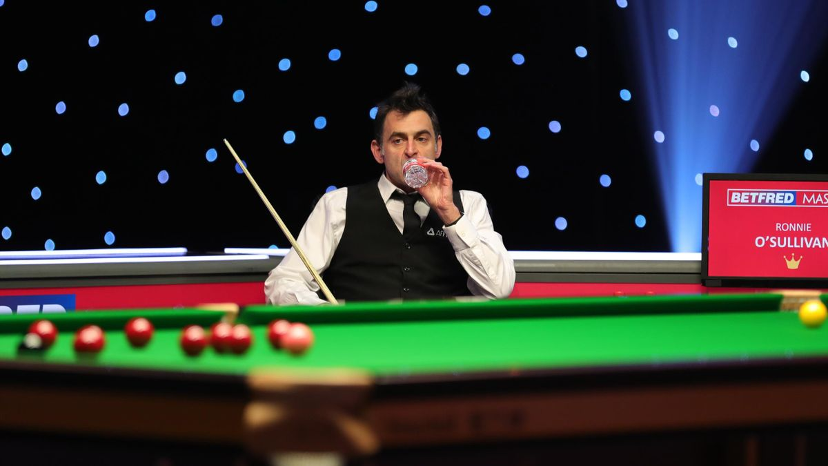Ronnie O'Sullivan at the Masters (World Snooker)