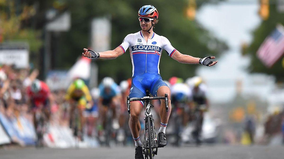 Peter Sagan vince per distacco il Mondiale di Richmond 2015