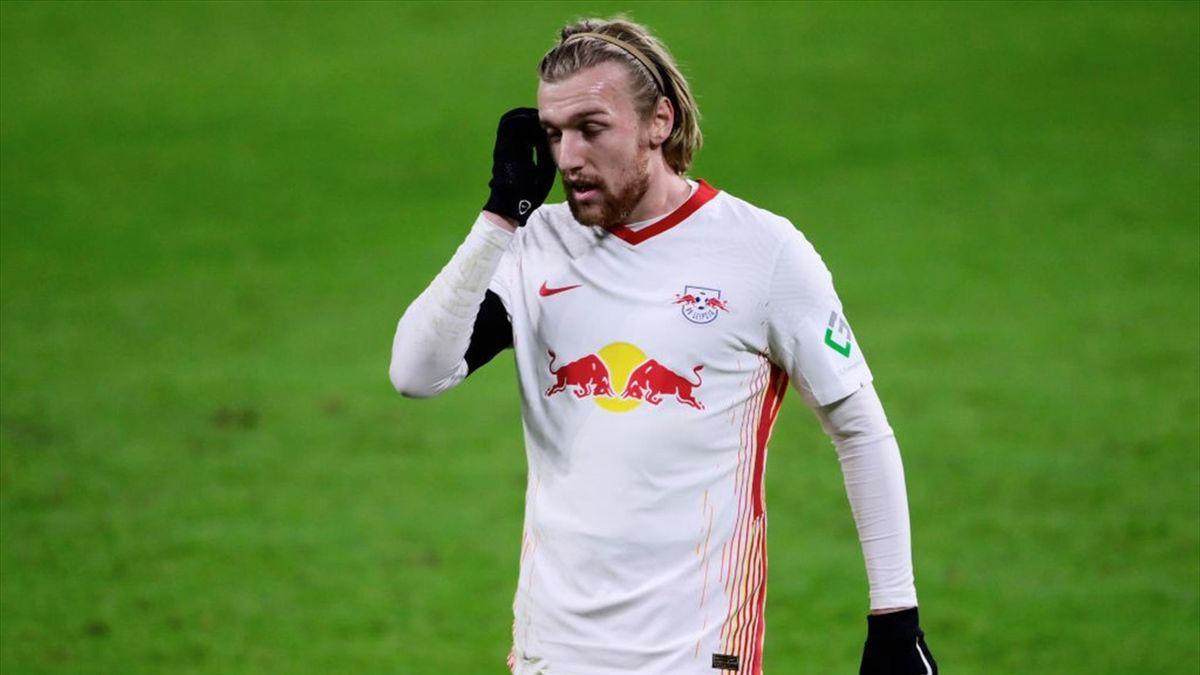 Emil Forsberg fehlt RB Lepzig im Duell mit Bayer Leverkusen