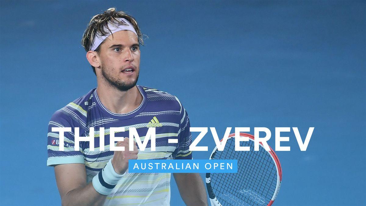 Australian Open - Highlights Thiem - Zverev
