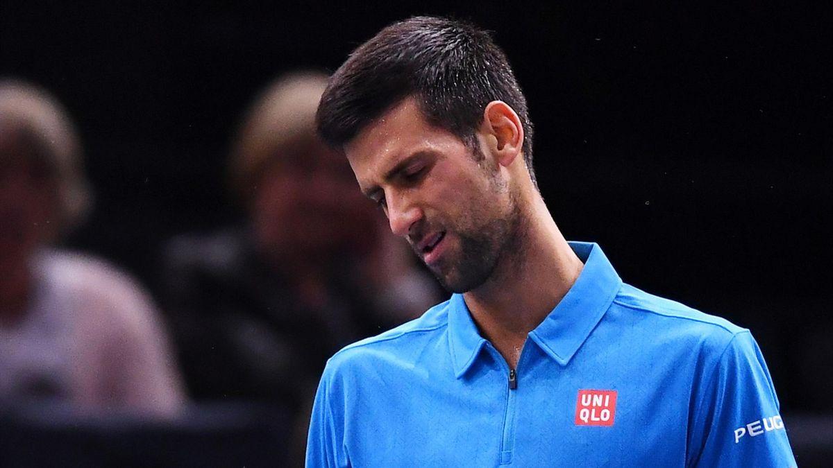 Novak Djokovic, battu par Marin Cilic à Bercy
