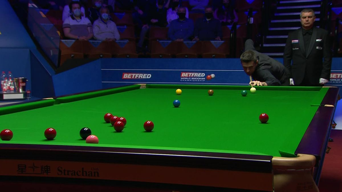 'What a shot that was' - Selby delights fans with stunning pot